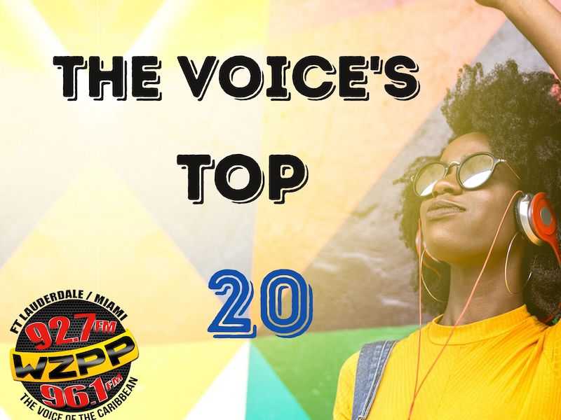 THE VOICE'S TOP 20 CHART