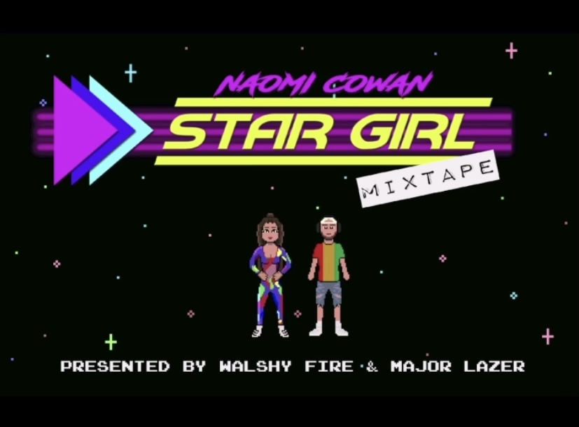 """NAOMI COWAN IS OUT OF THIS WORLD ON """"STAR GIRL"""" MIXTAPE"""